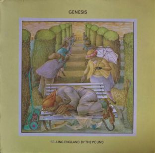 Genesis ‎- Selling England By The Pound (LP) (VG/G+)